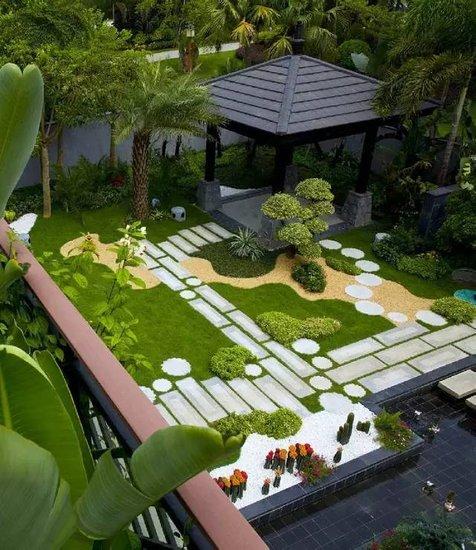 美不胜收的园林设计——碧桂园式七星园林