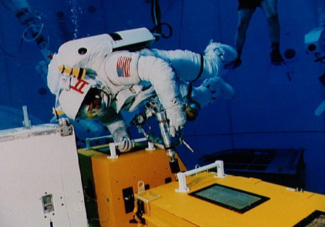 NASA宇航员展示办公室
