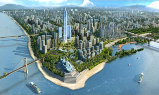 开发商资金链断裂 这个省第一高楼烂尾了...