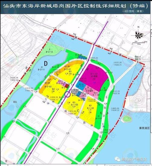 【聚焦】东海岸新城塔岗围片区控制性规划出炉 你关注的歌剧院体育馆都在这