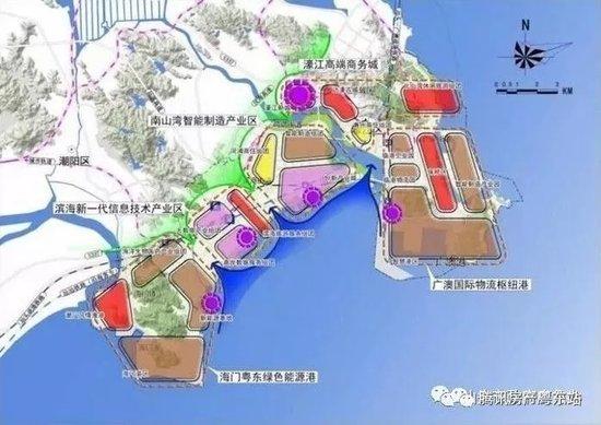 羡慕珠三角的粤港澳大湾区 汕头这个diao diao的临港经济区你看过没