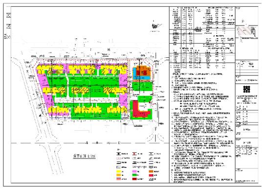 佰悦春天建设工程设计方案总平面图审查批前公示