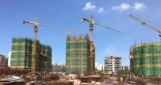 进度:清华熙园施工进入白热化阶段 最高已建至17层