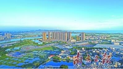 濠江区将全面加快建设现代文明临港新区