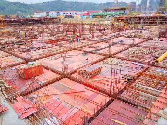 君悦南湾最高建至第七层 多角度工程实景共赏