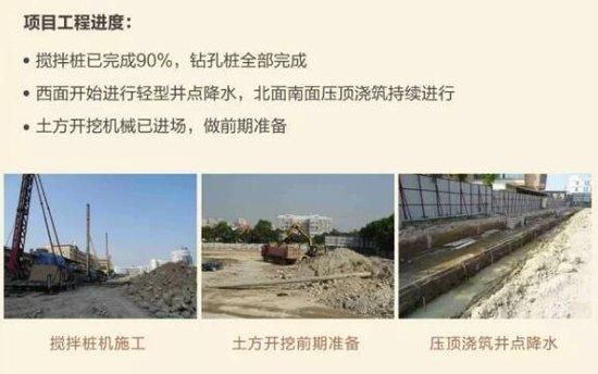 龙湖:佰悦春天主推70-160㎡ 准备进行土方开挖