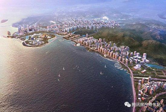 潮宏基1.14亿拿地入南滨 楼面价1587元/平 南滨迎来首个产业地产