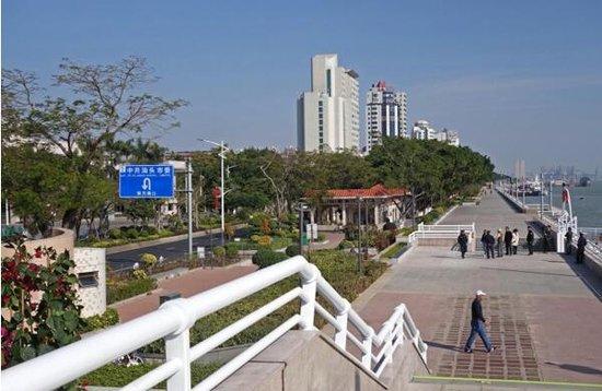 一路无阻畅赏海景 海滨长廊13个码头完成优化连接