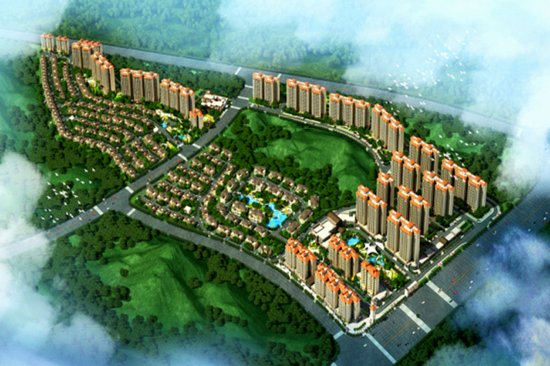 碧桂园•城市花园扎根云浮 缔造高品质生态大城