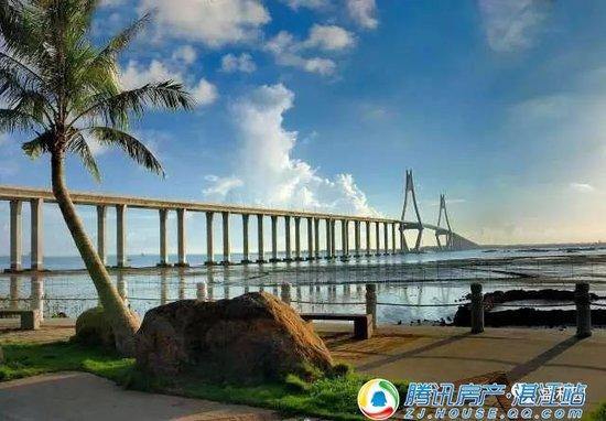 爱上一个蓝色的湛江,爱上一座盛和园