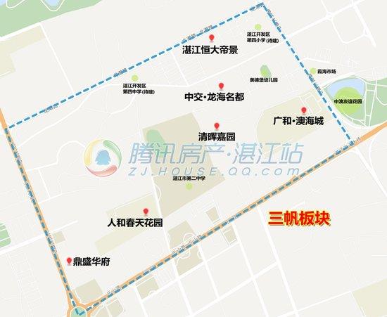 【买房必看】湛江的片区和板块,你都知道了吗?
