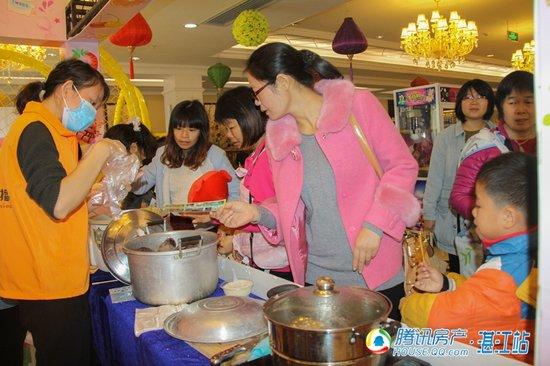 五谷杂粮 业主来宾们品尝各种五谷杂粮,突然觉得这里充满了家的味道