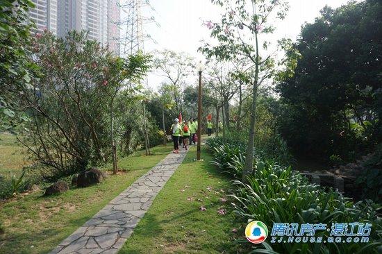 健康森呼吸!昌盛豪苑湿地公园徒步环游活动圆满举行