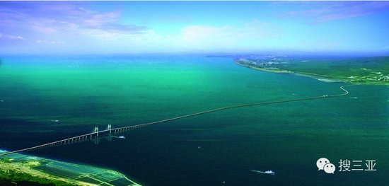 2016年湛江將建設世界第三大跨海大橋——瓊州海峽跨海大橋