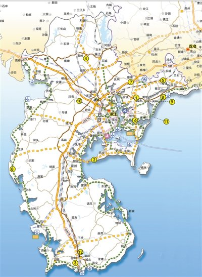 全球最长滨海公路 湛江尝头啖汤