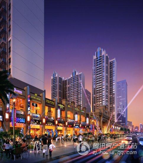 湛江万达广场海滨城市商业街耀世公开