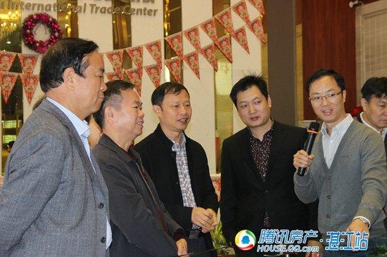 湛江市人大副主任高永元一行莅临湛江义乌视察