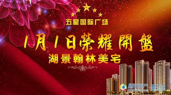 五星国际广场湖景翰林美宅1月1日荣耀开盘!