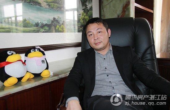 专访湛江商贸物流城总裁黄海枫