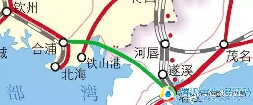 """大揭秘:湛江巨变,""""五龙入湛""""之合湛高铁!"""
