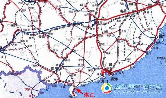 """2018年,高铁公交化朝发夕返,湛江就是那么""""任行"""""""