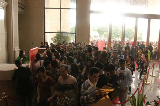 10月22日全湛江都轰动了!盛和园营销中心盛大开放