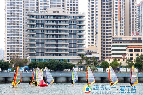 逐浪天悦湾,湛江首届船艇健身休闲邀请赛周日开赛