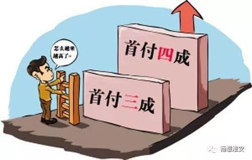 """首套房首付要40%!淮安朋友圈又开始""""调控楼市""""了……"""