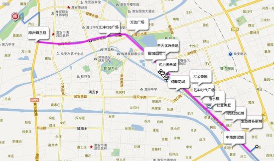 淮安地铁规划图高清