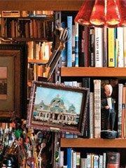 巴西建筑师的创意藏书屋