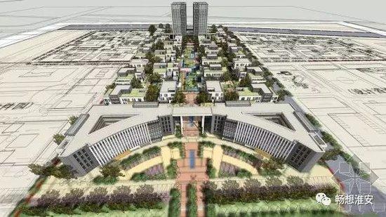 淮安大学城:全市为数不多几家只卖5千多的楼盘