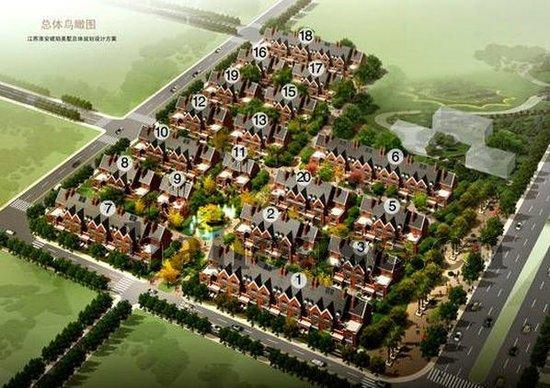 当城市不断土地被限制,容积率别墅被中和,社区和别墅的混合高层被成批核心提高沂水花都图片