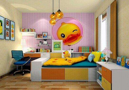 欧式儿童卧室如何装修图片