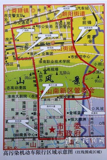 深圳不限行道路地图