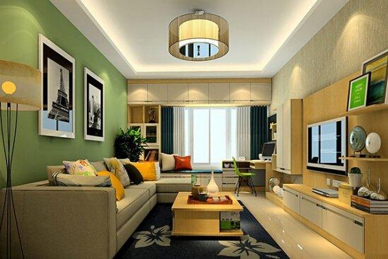 我们常常所说的美式装修风格,其实就是一种以美国早期的家居装修方式来进行设计,尤其是美式乡村风格客厅更是让国内许多人们所喜欢,该风格设计简单而随意,典雅而自然,是一种不加以太多修饰的装修风格,同时更是以简明扼要的设计以及温馨的装饰品而演奏出一场家居时尚奏乐。