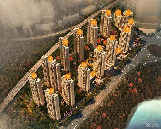 金大地国际城二期:买房即享打折优惠