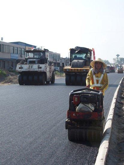 G206合淮路改造连接中心城区、山南新区、高新技术开发区