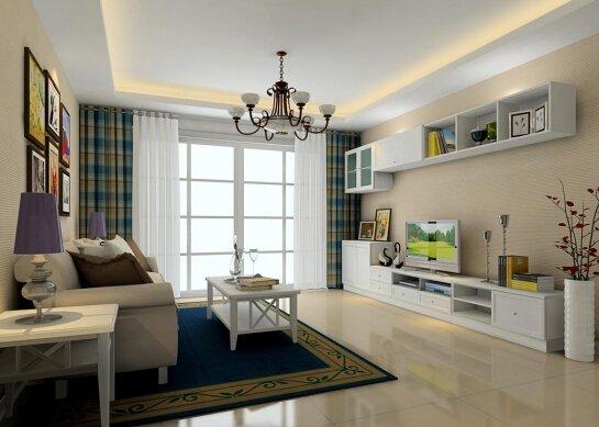 60平米客厅装修设计图片