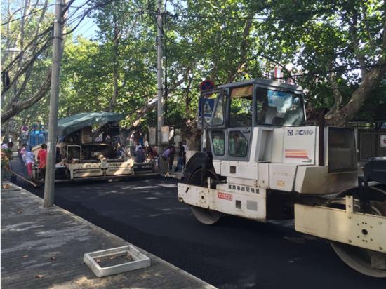 洞山小街改造工程提前竣工