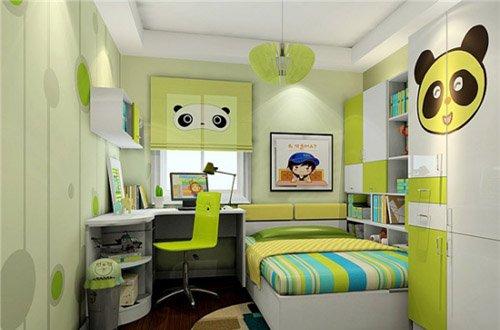 6平米儿童房装修案例,打造孩子娱乐学习完美空间!