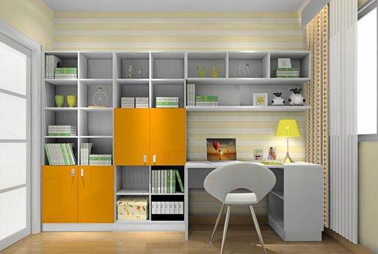 创意儿童房书柜 打造小孩梦想空间