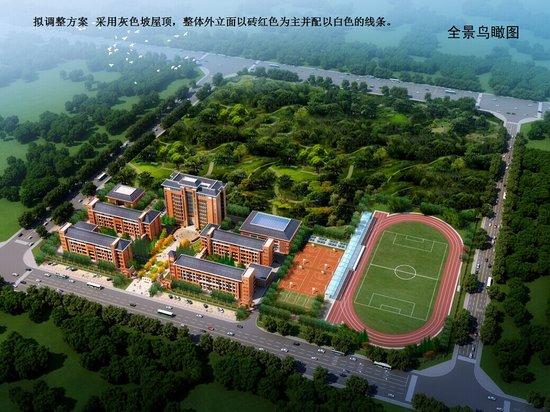 淮南实验中学山南校区完成摸底工作 9月1日正式开学
