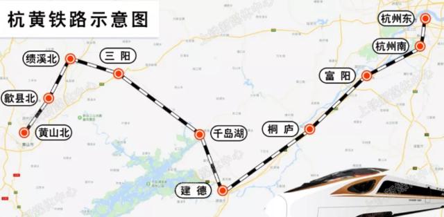 黄石至上海高铁即将开通 五个半小时就可到达