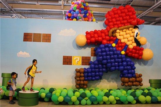 """大象滑梯,这些小朋友们喜爱的小动物形象用气球""""做""""出来将是怎么样的?"""