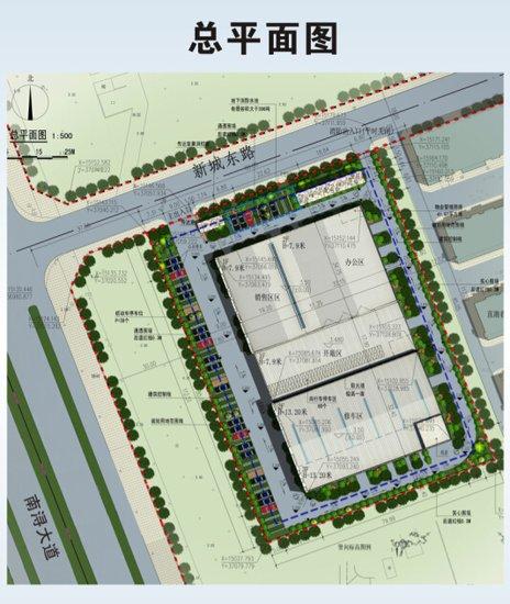 南浔城区规划图