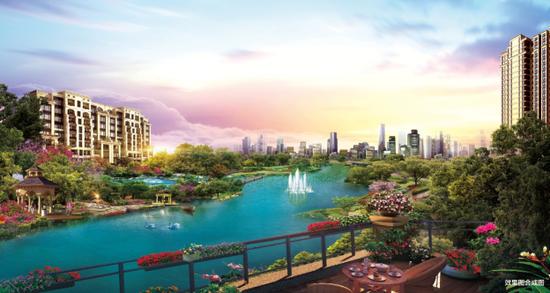 恒大悦珑湾现场展示中心4月8日即将荣耀启幕