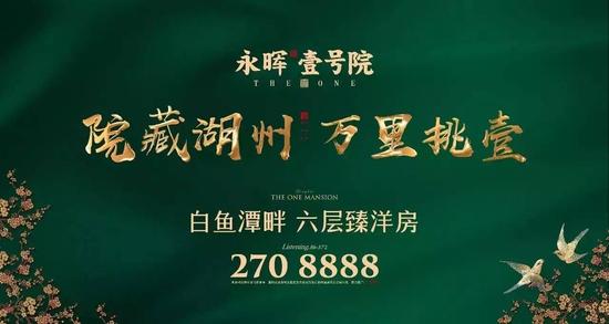 """永晖·壹号院""""拍出新壹""""活动盛大启幕 瞩目湖城"""