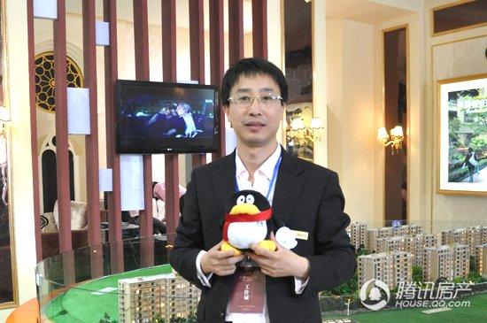 长兴房博会腾讯专访:卡地亚庄园徐全军