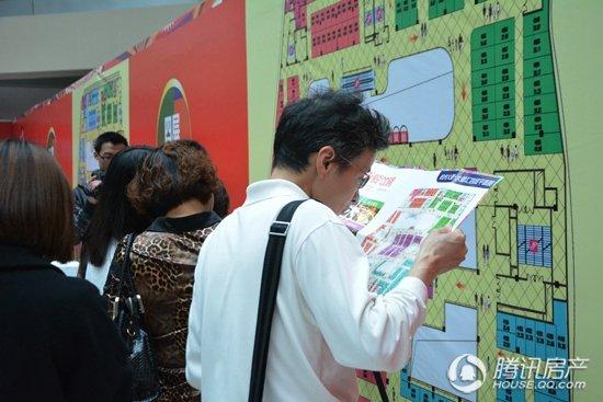 【腾讯关注】聚焦杭州大厦·大都汇抢铺之战 盛况空前