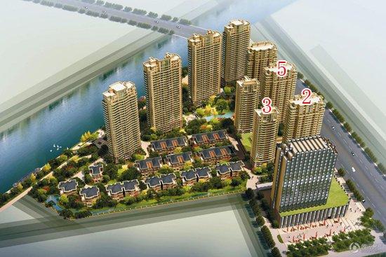 金色水岸一期少量房源在售 预计7月初加推3号楼